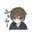 テキトーな男の子(個別スタンプ:03)