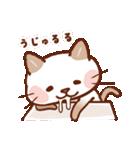 手描き風!ネコねこ日常スタンプ(個別スタンプ:8)