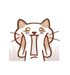 手描き風!ネコねこ日常スタンプ(個別スタンプ:13)