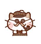手描き風!ネコねこ日常スタンプ(個別スタンプ:16)