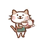 手描き風!ネコねこ日常スタンプ(個別スタンプ:35)