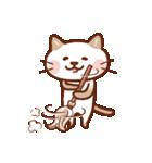 手描き風!ネコねこ日常スタンプ(個別スタンプ:38)