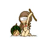 ラブラブカップル女の子の夏!(個別スタンプ:22)