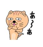 ゆるい感じでうざいむかつく猫です(個別スタンプ:37)