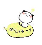 めっちゃ使える!パンダねこ 好き!大好き!!(個別スタンプ:17)