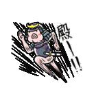 PIG将軍(個別スタンプ:03)
