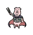 PIG将軍(個別スタンプ:19)