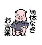 PIG将軍(個別スタンプ:31)