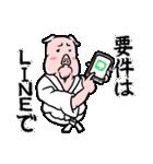 PIG将軍(個別スタンプ:36)
