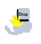 キーボード ゴーストスタンプ(個別スタンプ:09)