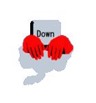 キーボード ゴーストスタンプ(個別スタンプ:10)