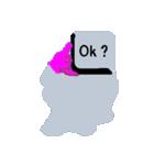 キーボード ゴーストスタンプ(個別スタンプ:25)