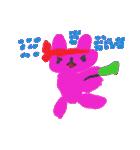 なまけものうさぎのミキちゃん(個別スタンプ:07)