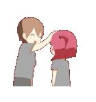 Weirdo Couple(個別スタンプ:09)