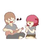Weirdo Couple(個別スタンプ:29)