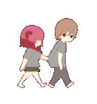 Weirdo Couple(個別スタンプ:30)