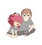 Weirdo Couple(個別スタンプ:40)