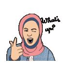 Pretty Hijab(個別スタンプ:01)