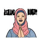 Pretty Hijab(個別スタンプ:03)