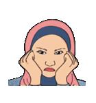 Pretty Hijab(個別スタンプ:05)