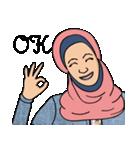 Pretty Hijab(個別スタンプ:07)