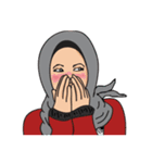 Pretty Hijab(個別スタンプ:10)