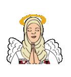 Pretty Hijab(個別スタンプ:12)