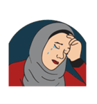 Pretty Hijab(個別スタンプ:16)