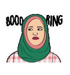 Pretty Hijab(個別スタンプ:17)