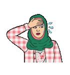Pretty Hijab(個別スタンプ:18)
