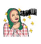 Pretty Hijab(個別スタンプ:19)