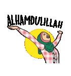 Pretty Hijab(個別スタンプ:23)