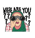 Pretty Hijab(個別スタンプ:24)