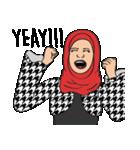 Pretty Hijab(個別スタンプ:25)