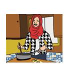 Pretty Hijab(個別スタンプ:29)