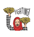 Pretty Hijab(個別スタンプ:30)