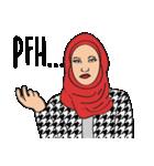 Pretty Hijab(個別スタンプ:32)