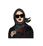 Pretty Hijab(個別スタンプ:33)