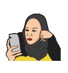 Pretty Hijab(個別スタンプ:40)