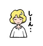 """愛くるしい、""""月ミちゃん""""。 [月より](個別スタンプ:13)"""