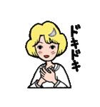 """愛くるしい、""""月ミちゃん""""。 [月より](個別スタンプ:18)"""