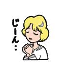 """愛くるしい、""""月ミちゃん""""。 [月より](個別スタンプ:19)"""