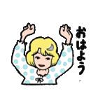 """愛くるしい、""""月ミちゃん""""。 [月より](個別スタンプ:22)"""