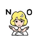 """愛くるしい、""""月ミちゃん""""。 [月より](個別スタンプ:30)"""