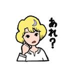 """愛くるしい、""""月ミちゃん""""。 [月より](個別スタンプ:31)"""