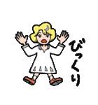 """愛くるしい、""""月ミちゃん""""。 [月より](個別スタンプ:36)"""
