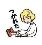 """愛くるしい、""""月ミちゃん""""。 [月より](個別スタンプ:39)"""