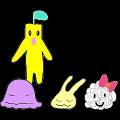 ニャムニャムと妖精たち
