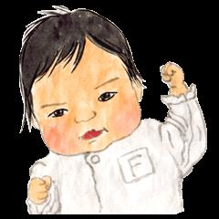 和風の赤ちゃん ふーちゃん新生児~乳児編