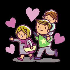 スタンプ一発!ママ育児トーク(男の子編)